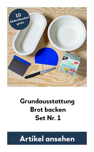 Zuhause gutes Brot backen mit der Grundausstattung von locavore.eu