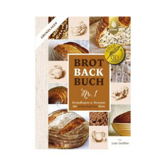Brotbackbuch Nr. 1 von Lutz Geißler