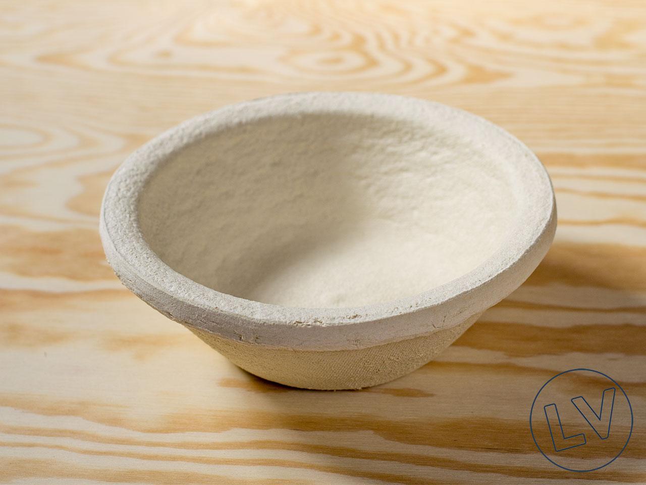 Gärkorb rund aus Holzschliff für kleine Brote