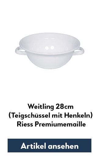 Weitling weiß 28cm Durchmesser