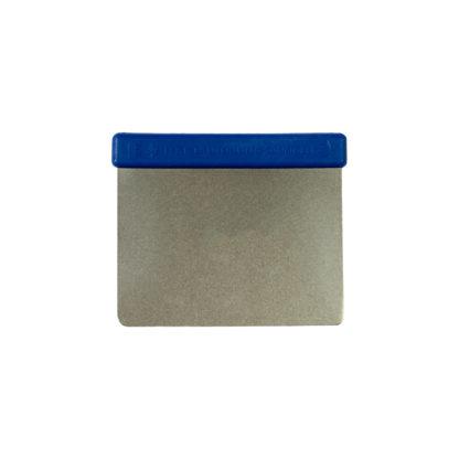 Teigkarte (Teigabstecher) aus Metall, flexibel, abgerundete Ecken