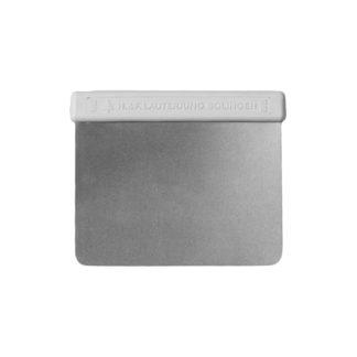 Teigkarte (Teigabstecher) mit flexibler Klinge aus Metall & abgerundeten Ecken